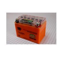 Аккумулятор 4Аh-YTX4L-BS OUTDO (гелевый, оранж) 114*70*...