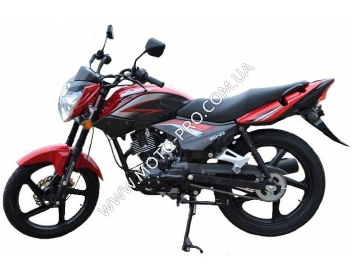 Мотоцикл FORTE FT200-23 N (Красный)