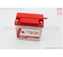 Аккумулятор 12V/9Аh, 6МТС-9 (кислотный, сухой, круглая ...