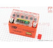 Аккумулятор 4Аh YTX4L-BS (гелевый, оранж) 113/70/85мм с...