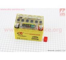 Аккумулятор 4Аh YTX4L-BS (гелевый, желтый) 113/70/85мм ...