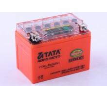 Аккумулятор 4Аh-YTX4L-BS OUTDO (гелевый, оранж С ИНДИКА...