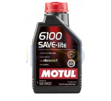 Масло автомобильное, 1л (синтетика, 0W-20, 6100 SAVE-LI...