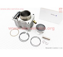CG250-OHV Цилиндр к-кт (цпг) 250cc - 67мм - водяное охл...