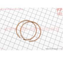 Кольца поршневые Suzuki AD65 44мм +0,75
