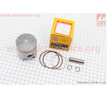 Поршень, кольца, палец к-кт Suzuki AD100/110 52,5мм +0,...