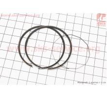 Кольца поршневые Suzuki AD100 52,5мм +0,50