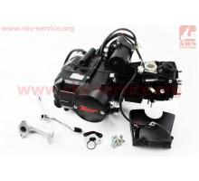 Двигатель для квадроцикла (мопедный) в сборе 110куб - &...