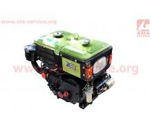 Двигатель мотоблочный в сборе + стартер 8л.с. ZUBR SH18...