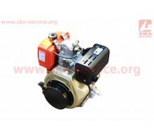 Двигатель мотоблочный в сборе под шлиц Ø25мм+стартер 9л...