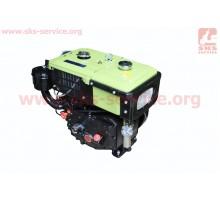 Двигатель мотоблочный в сборе 8л.с. 180NDL ZUBR длинная...
