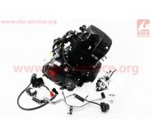 Двигатель мотоциклетный в сборе CGT-175cc (водяное охла...