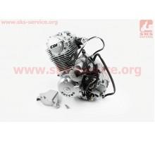 Двигатель мотоциклетный в сборе CB-125cc (на Viper-125J...