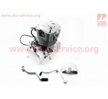 Двигатель мотоциклетный в сборе CB-200cc (на Viper-125J...