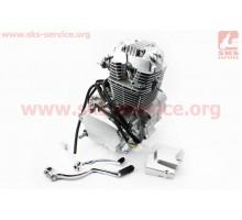 Двигатель мотоциклетный в сборе CB-150cc (на Viper-125J...