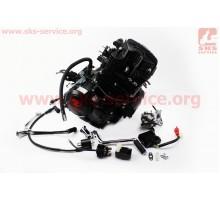 Двигатель мотоциклетный в сборе CGT-200cc (водяное охла...