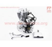 Двигатель мотоциклетный в сборе CG-200cc