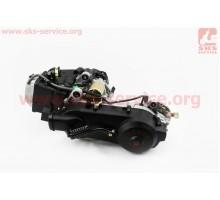 Двигатель скутерный в сборе 125куб (короткий вариатор, ...