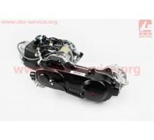 Двигатель скутерный в сборе 4Т-80куб (длинный вариатор,...