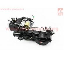 Двигатель скутерный в сборе 150куб (длинный вариатор, к...