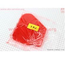 Фильтр-элемент воздушный (поролон) Yamaha JOG 3KJ с пропиткой, красный