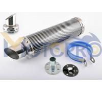 Глушитель (тюнинг) 300*90mm, креп. Ø48mm (нержавейка, карбон mod:2, прямоток, тип:3)