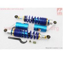 Амортизатор задний газовый к-кт 2шт KJ-3007 310mm, сини...