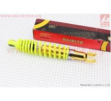 Амортизатор задний 310мм (регулируемый, цвет - лимонный...