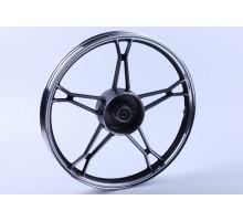 Актив - колесо заднее титановое (черное) -вес 3кг