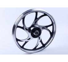 Актив - колесо заднее титановое (усиленое) - вес 3,5кг