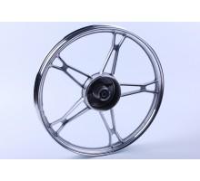 Актив - колесо переднее титановое (черное) под барабан ...