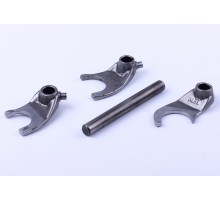 CB-125/150 - механизм переключения КПП (вилки)