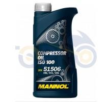 Масло 1л (компрессорное, Compressor Oil ISO 100) MANNOL