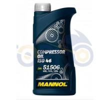 Масло 1л (компрессионное, Compressor Oil ISO 46) MANNOL