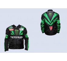 Мотокуртка KAWASAKI (текстиль) (size:XL, MONSTER ENERGY...