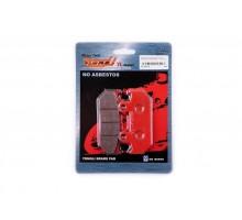 Колодки тормозные (диск) Honda CBR250F/500F (красные) Y...