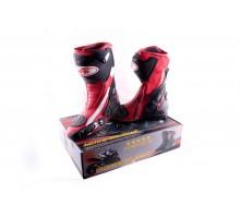 Ботинки PROBIKER (mod:1002, size:42, красные)