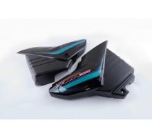 Пластик Yamaha YBR125 боковая пара на бардачок (черный)...