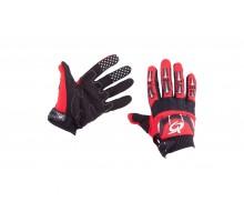 Перчатки RG (size:L, красно-черные)