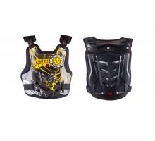 Защита жилет (size:XL, черно-желтый, mod:AM06) SCOYCO