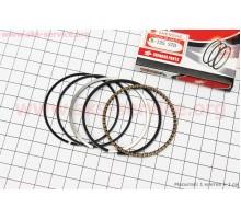 Кольца поршневые 56,5мм STD (толщина - 1мм) (CB-125/150...