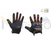 Перчатки SCOYCO (mod:HD-09, size:L, красные, текстиль)
