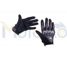 Перчатки AXE RACING (size:M, черные) (mod:3)