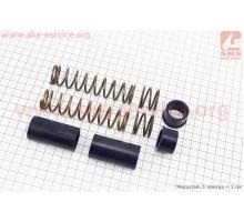 Ремонтный комплект передней вилки Yamaha JOG - втулки 4...