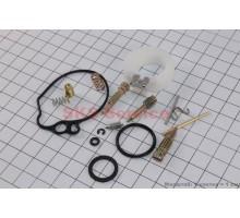 Ремонтный комплект карбюратора Honda TACT AF16, 14 дета...