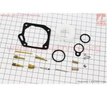 Ремонтный комплект карбюратора Yamaha JOG, 14 деталей+п...