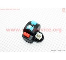 Блок кнопок на руле левый (без рычага)