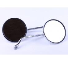 Альфа - зеркало хромированное (пара)