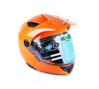 Шлем MD-900 оранжевый (трансформер) size M - VIRTUE
