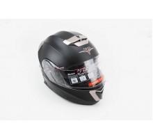 Шлем закрытый с откидным подбородком+очки BLD-160 S- ЧЕ...